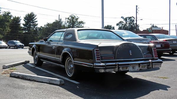 October 5, 2013:  1978 Lincoln Mark V, Cook Motor Co .  .  .