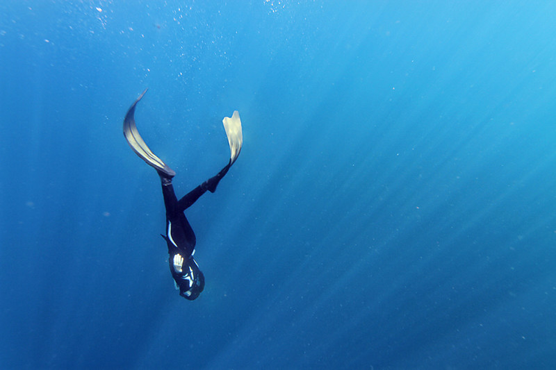 Freediving in Bali Southeast Asia adventures