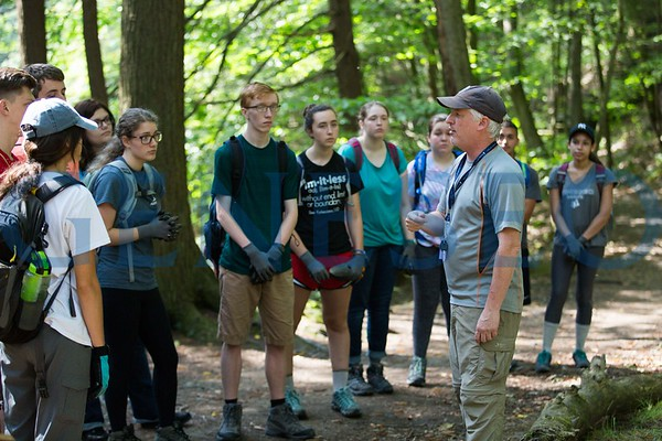 First-Year Student Immersion at Letchworth State Park