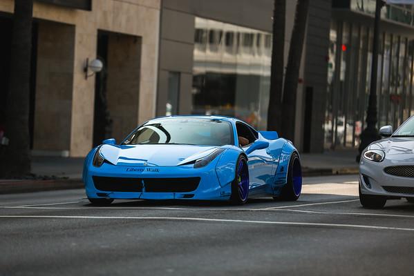 Ferrari 60th Beverly Hills
