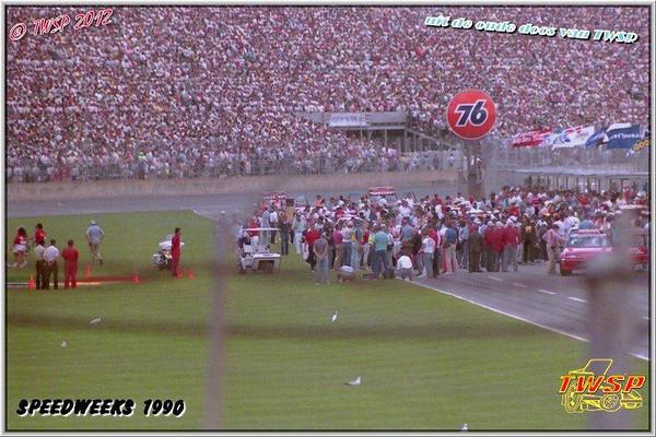 1ste Speedweeks Daytona TWSP 1990 met dank aan TWSP foto's