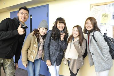 30370 Intensive English Program Thanksgiving Luncheon November 2014