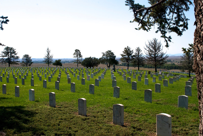 Little Big Horn National Cemetery, the Fallen