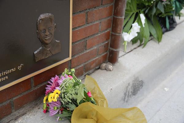 Burt and Kim Brink at Memorial