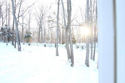 2010 Winter Snow Storm Sledding