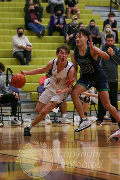 February 6, 2021 Varsity Boys Basketball vs. Eaton