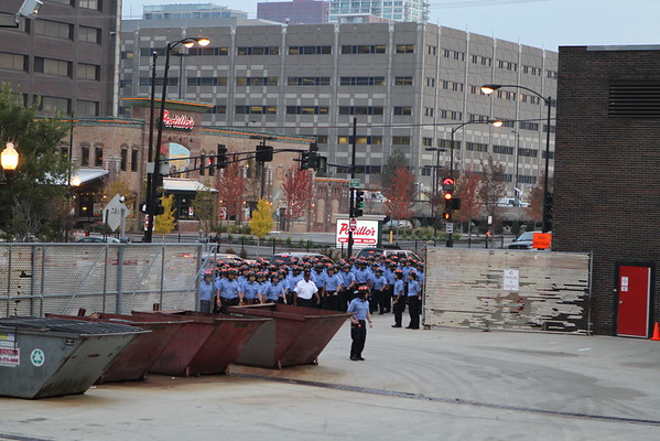 Chicago Fire Department Firefighter Candidate Academy Day 1 11-2-2016