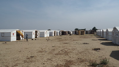 Congestion at IDP sites in Nigeria