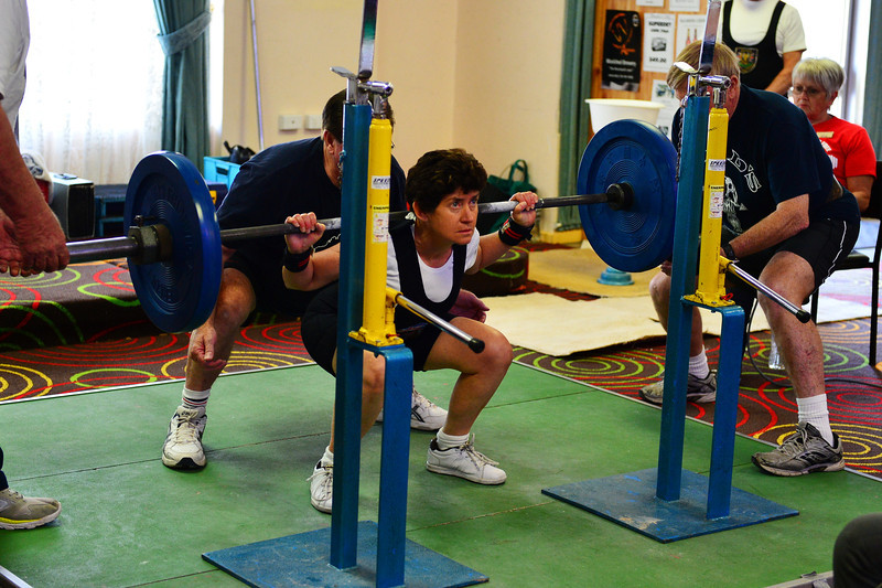 Power Lifting Comp at Cobby Club