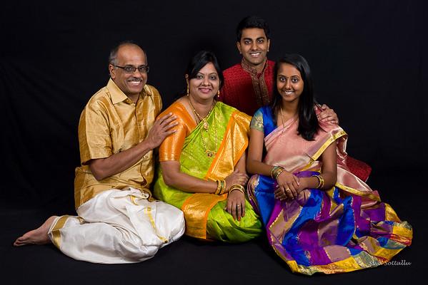 Mala Ravi Family