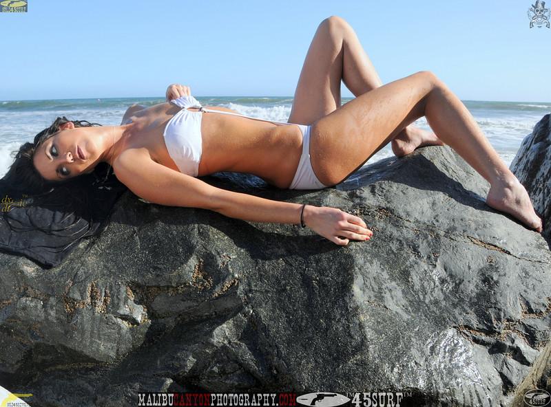 beautiful woman sunset beach swimsuit model 45surf 892.65