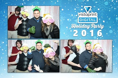 Vista Print Digital Holiday Party 2016
