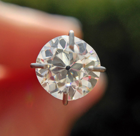 .80ct Old European Cut Diamond, GIA K  VS2