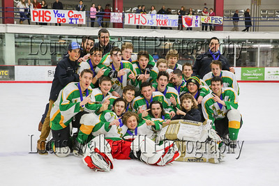Hockey Division II Final Game 3 North Smithfield vs PHS 2016