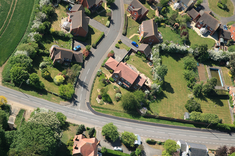 May 2011 Aerial photo of Spaldwick_5684319760_o.jpg