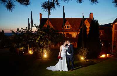 Amy & Bjorn - Hatton Court Hotel