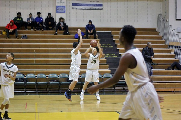 JV Boys basketball vs. Kennedy HS 12/6/2018