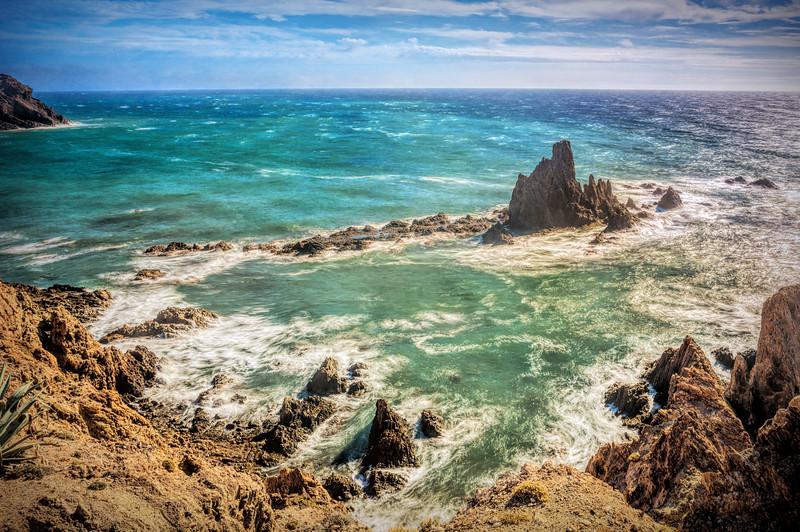 Arrecife de las Sirenas (Reef of Mermaids), Cabo de Gata, Almeria, Spain