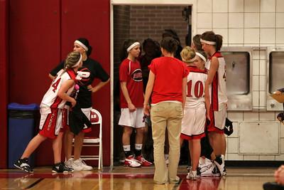 Girls Varsity Basketball - 2008-2009 - 2/21/2009 Spring Lake