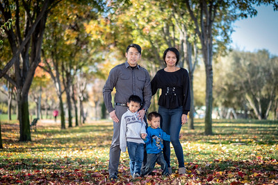 Wong Family 2018