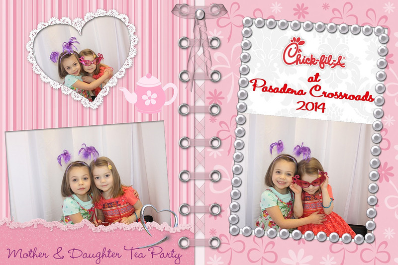 Mother & Daughter Tea Party 2014 at CFA - Pasadena Crossroads