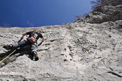 02 25 Sport climbing in Vipava