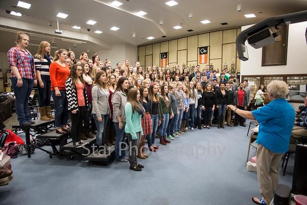 EHS Choral Club 12-04-14