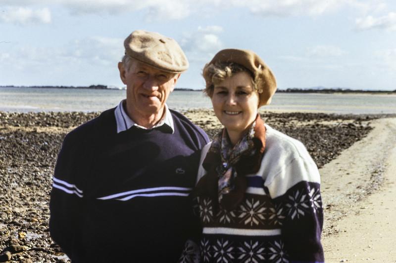 Colin & Enid Holmes, 1992.