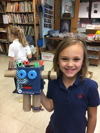 KW Recycled Robots