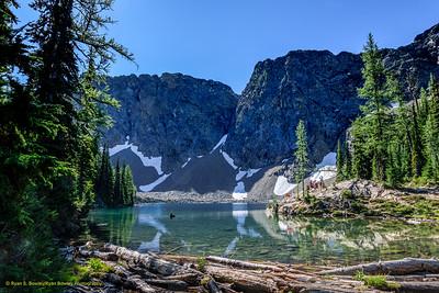 Blue Lake - North Cascades National Park