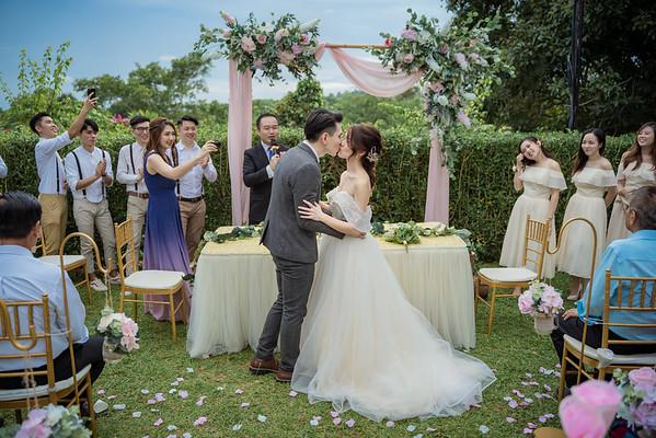 Bk & Ci wedding day