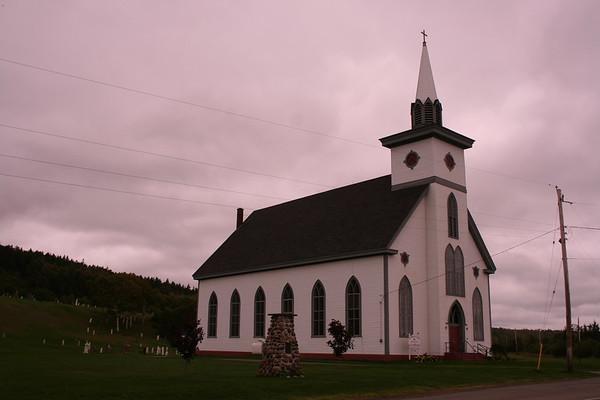 Day 4: St Margaret's RC, Arisaig, NS - 29 September 2007
