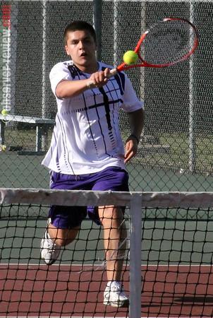 Hammondsport tennis 4-17-13