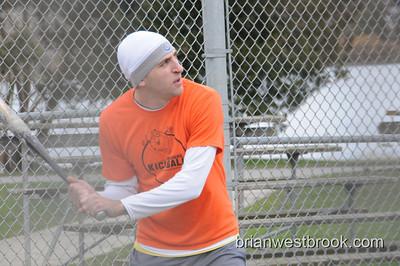 Softball at Greenlake (22 Mar 2009)
