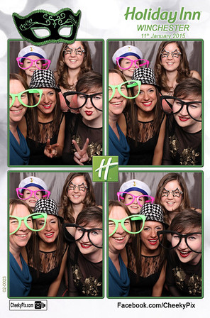 Holiday Inn Winchester New Year Party Photo Booth