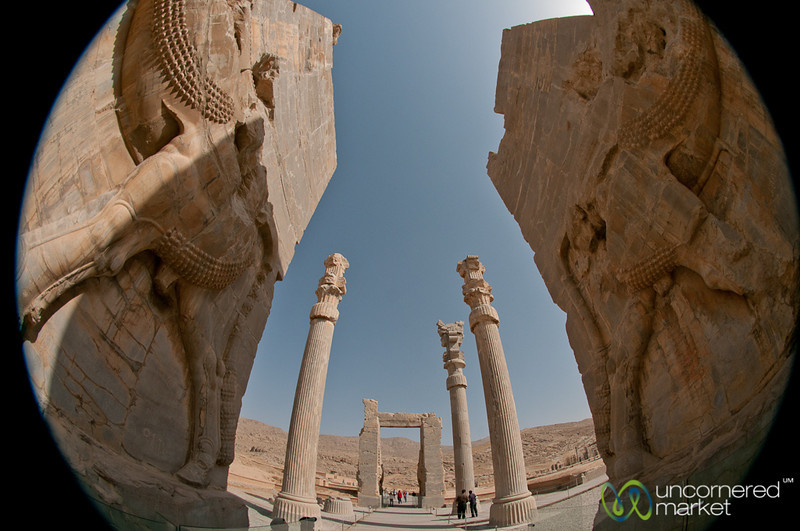 Fisheye View of Persepolis, Iran