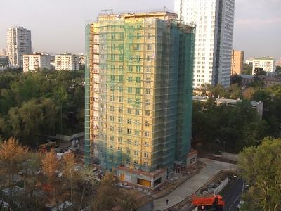 2014-05-08...2014-08-22, Building construction in Astradamskaya Street