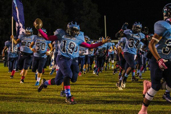 LC Bird Varsity Football '13 v Huguenot