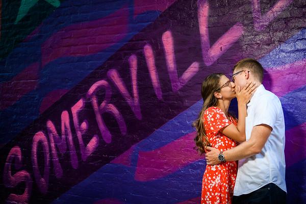 Ellie & Ben's Engagement Session - Somerville, NJ