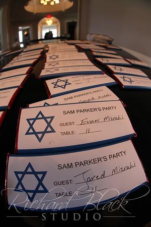 Sam Parker Bar Mitzvah 4-1-17
