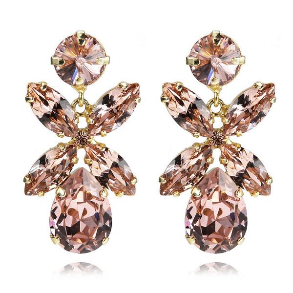 Dione Earrings / Vintage Rose Gold