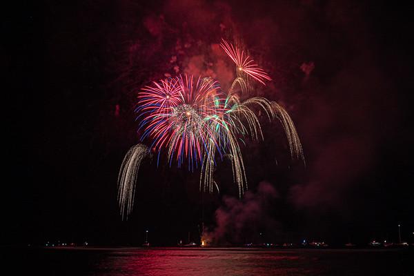 Lahaina July 4th Fireworks