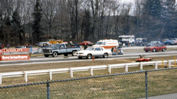 March 27, 1988:  Opening Day at Beaver Springs Dragway .  .  .