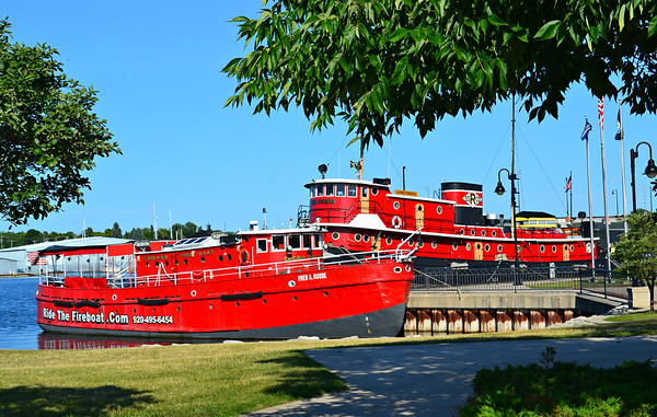Ride the Fireboat