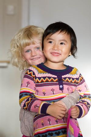 Sunniva og Xiao Iu