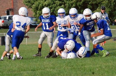 7th fball at sterling newman . 9.1.15