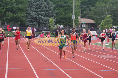 D1 800M Relay, 1600M, 400M Relay, 400M, 300 Hurdles - 2013 MHSAA LP Track and Field
