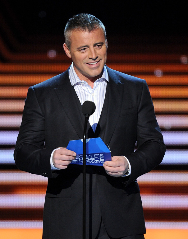 . LOS ANGELES, CA - JANUARY 08:  Actor Matt Leblanc onstage at The 40th Annual People\'s Choice Awards at Nokia Theatre L.A. Live on January 8, 2014 in Los Angeles, California.  (Photo by Kevin Winter/Getty Images)