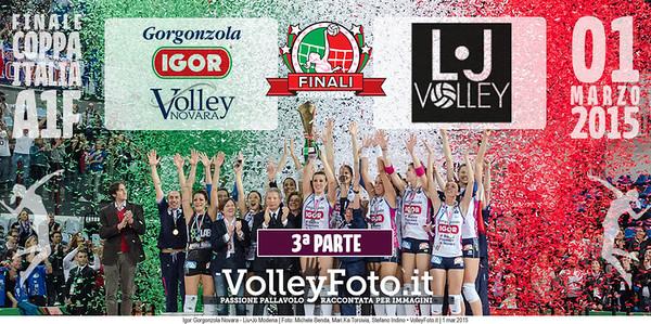 FINALE A1: Igor Gorgonzola Novara - Liu•Jo Modena (3ª Parte)