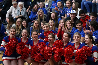 LB Fans at BBK DIII Sectional Semis (2020-02-28)
